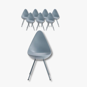 Drop Chair Fritz Hansen Secondhand Vintage Möbel Dekoration Schweiz