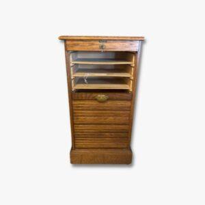 Rollschrank Secondhand Vintage Möbel Dekoration Schweiz