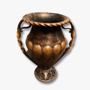Messing Vase Secondhand Vintage Möbel Dekoration Schweiz