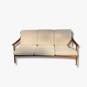 Teak-Sofa aus Dänemark, 60er Jahre
