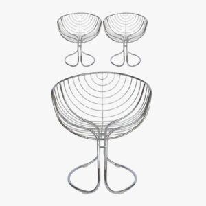 Pan Am Chair Gastone Rinaldi Rima Secondhand Vintage Möbel Dekoration Schweiz
