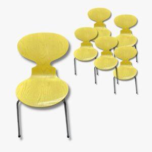 6er Set Stuhl 3101 Arne Jacobsen