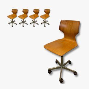 Bürostuhl Pagholz Secondhand Vintage Möbel Dekoration Schweiz