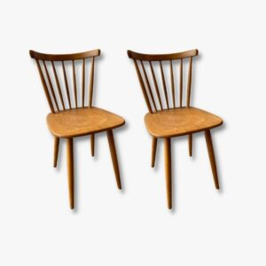 Stäbli Stühle Holz Secondhand Vintage Möbel Dekoration Schweiz