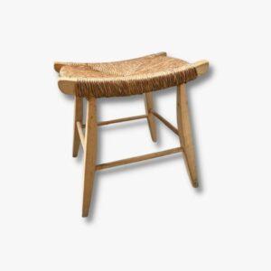 Hocker Holz Vintage Secondhand Schweiz Kurato