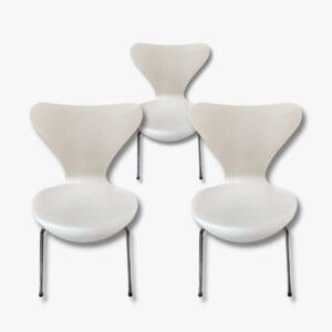 Arne Jacobsen Fritz Hansen serie 7 3107 Secondhand Vintage Möbel Dekoration Schweiz