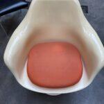 tulip armchair beige white vintage secondhand gebraucht schweiz kurato-3