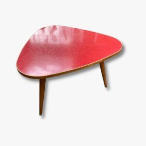 Beistelltisch 50er Horgen Glarus rot vintage secondhand gebraucht schweiz