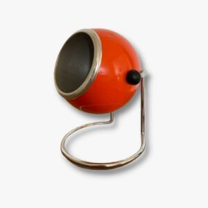 Retro Lampe Eye Ball orange vintage secondhand schweiz kurato