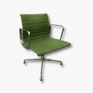 Eames Aluminiumchair grün EA104, Herman Miller Vitra